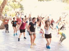 Die Campbeschreibung Ibiza Clubs, Zumba Fitness, Dance Camp, Trainer, Tobias, Sport, Camps, Ballet Skirt, Running