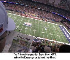 The Trib traveled to Super Bowl XLVII in New Orleans!