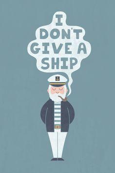 sea, captain, pun