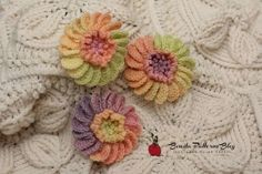 Blooming Crochet Flower - Celebrate the beauty of nature with this colorful crochet flower pattern. You'll love finding clever ways to incorporate this decorative piece into your various crafts and projects.