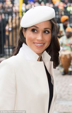 Meghan Markle tells fans she is 'very excited' about her big day