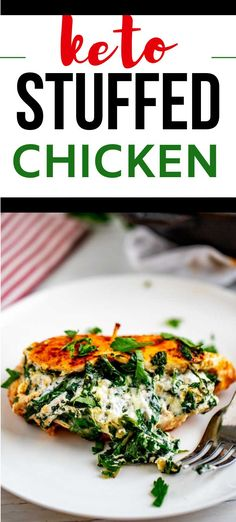 Few foods satisfy like cheesy chicken. I like to prepare this Keto Spinach Stuffed Chicken recipe on Sunday to enjoy for an energizing meal throughout the week. I think you will find that this low carb chicken recipe is madly addictive and deserves to become a habit.