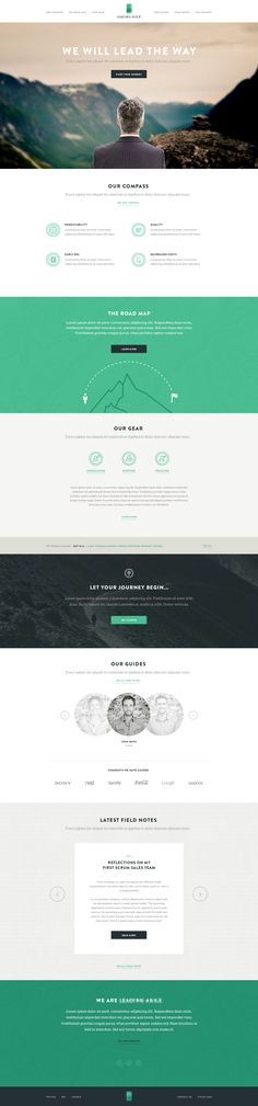 Dribbble - home-full.jpg by Aaron Stump