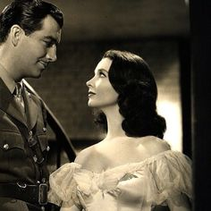 Robert Taylor and Vivien Leigh