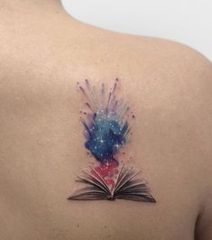 creative book tattoos