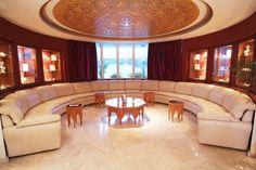 Grand salon marocain moderne