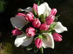 tulip and lily bouquet