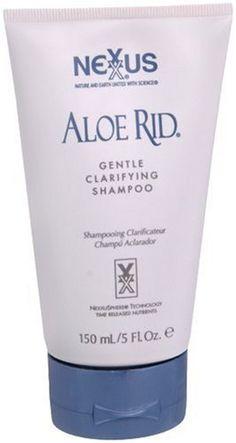 Nexxus Aloe Rid Gentle Clarifying Shampoo, 5.1 Fl Oz (Original Formula) -- Continue to the product at the image link.
