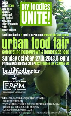 Urban Farmers Barter and Party 10/27/13