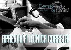 Aprenda realmente a fazer extensão de Cílios com a técnica certa! www.cursoextensadecilios.com.br