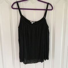 Flowy Braided Tank Top Very light weight tank top with braided straps and neckline. American Eagle Outfitters Tops Tank Tops