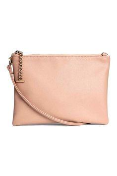 Маленькая сумка через плечо - Розовая пудра - Женщины | H&M RU 1