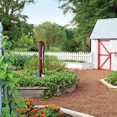 Lookout Mountain Farmhouse: The Vegetable Garden