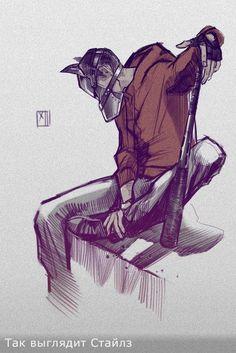 Радикал-Фото: Картинка - Арты с примерной внешностью персонажей к фику)