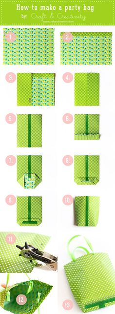 DIY Gift bag {tutorial}