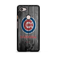 Chicago Cubs Baseball Logo Dark Wood Wallpaper Google Pixel 3 XL Case – Miloscase Dark Wood Wallpaper, Chicago Cubs Baseball, Phone Case, Texture, Logos, Google, Prints, Design, Surface Finish