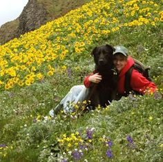 Blooming Dog Mountain in southern Washington offers panoramas of the Columbia River Gorge, Mt. St. Helens and Mt. Hood, and allows dogs on-leash.