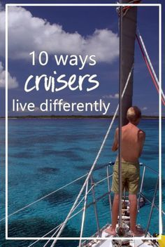 🔷🔷🔷 Get a cruise 🚢🚢🚢 for half price or even for free!🌎🌎🌎klick for more details.✔✔✔ A humorous take on all the ways we live differently on the water compared to lubbers ashore: groceries, garbage, attire, you name it! Sailboat Living, Living On A Boat, Catamaran, Liveaboard Sailboat, Boating Tips, Sailboat Interior, Destinations, Boat Stuff, Sail Away