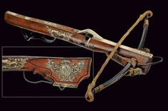 Bella balestra di appartenenza nobile Germania, fine del XVII Secolo crossbow
