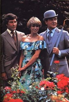 A history and appreciation of the adventure series The New Avengers, starring Patrick Macnee, Joanna Lumley and Gareth Hunt. Joanna Lumley, Emma Peel, Uk Tv Shows, Old Shows, Movies And Series, Tv Series, Die Rächer, Vintage Television, Adventure Movies
