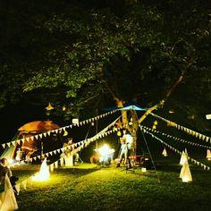 手作り野外音楽フェスをしました! Event Decor, Camping, Lights, Outdoor, Design, Campsite, Outdoors, Lighting