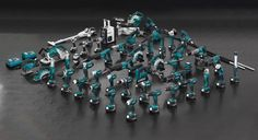80+ Tools on One 18V LXT Lithium-Ion Battery - Makita LXT Brushless