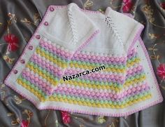 Baby Sweaters, Drawstring Backpack, Diy And Crafts, Blanket, Knitting, Crochet, Fashion, Tricot, Sweater Vests
