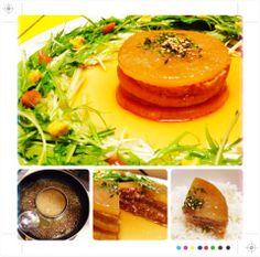大根と豚肉の照りッ照りミルフィーユステーキ(*ˊᗜˋ)⋆°.♡ by powerangix at 2014-2-5 追加写真、詳細、小ネタをブログ記事にしてます(๑′ᴗ‵๑) 気になる方はチェックしてみて下さい♪   大根と豚肉の照りッ照りミルフィーユステーキ【ある日のカフェ飯:016】    a+cafe(あとカフェ) http://atcafe.dualing-am.com/cafemeshi/millefeuille_daikon_steak/