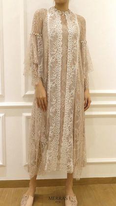 Dress Brokat Muslim, Dress Brokat Modern, Kebaya Modern Dress, Kebaya Lace, Kebaya Dress, Dress Pesta, Kebaya Hijab, Dress Brukat, Hijab Dress Party