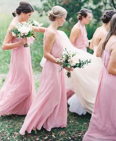 Our top 10 favorite bridesmaid dresses Beautiful Bridesmaid Dresses, Pink Bridesmaid Dresses, Wedding Dresses, Lehenga, Wedding Blog, Dream Wedding, Wedding Gallery, Wedding Stuff, Amsale Bridesmaid