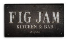 Fig Jam Kitchen and Bar Atlanta- the name alone just sounds delicious! They also serve Honeysuckle gelato among the many other yummy treats on the menu