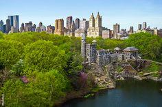 Belvedere Castle, Central Park, Manhattan