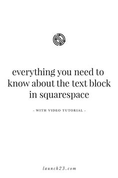 Everything you need to know about the Text Block in Squarespace — Photography Website Templates, Photography Website Design, Website Design Inspiration, Custom Website Design, Web Design Tips, Text Style, Creative Business, Branding Design, Tools