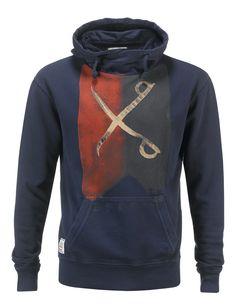 Felpa uomo AWorld con cappuccio incrociato e stampa fotografica. Shop online: http://www.athletesworld.it/felpa-aworld-garment-dyed-aworld-9199401