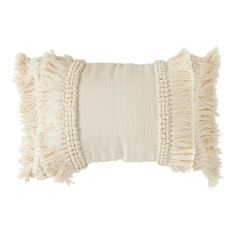 Creative Co-Op is a home, seasonal decor & fashion accessories wholesaler. We offer x Cotton & Chenille Woven Lumbar Pillow w/ Fringe, Cream Color & more. Check out our website today! Boho Throw Pillows, Cream Pillows, Lumbar Throw Pillow, Decor Pillows, Blush Throw Pillow, Couch Pillows, Cushions, Painted Fox Home, Bedrooms