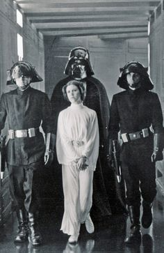Leia On The First Death Star In Star Wars Episode IV: A New Hope❤️❤️❤️❤️❤️