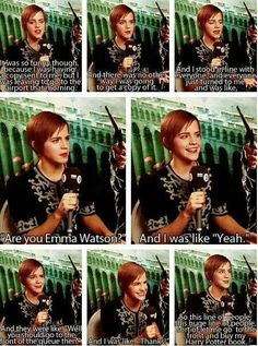 How Emma Watson got one of her Harry Potter books