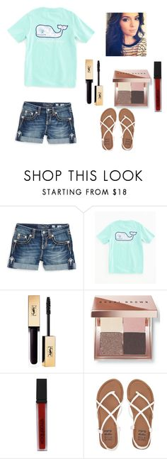 """Summer// Vineyard vines "" by lilly-03 ❤ liked on Polyvore featuring Miss Me, Vineyard Vines, Bobbi Brown Cosmetics, Smashbox and Billabong"