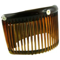 Jean Paul Gaultier Vintage Rare Comb Cage Cuff Bracelet  | From a unique collection of vintage cuff bracelets at https://www.1stdibs.com/jewelry/bracelets/cuff-bracelets/