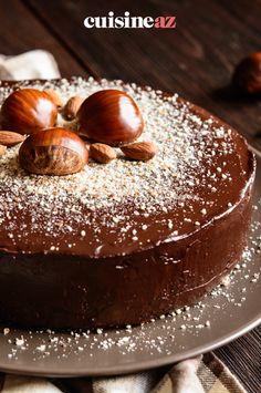 Une recette originale de fondant au chocolat avec de la farine de châtaigne. #recette#cuisine#fondant #chocolat #farinedechataigne#patisserie Sweet Life, Cakes And More, Cake Cookies, No Bake Cake, Baked Goods, Baking Recipes, Biscotti, Panna Cotta, Bakery