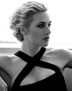 I love Kate Winslet's style...very classic/structured/glamorous but with a touch of edge so I'm pinning a few pics of her just to let you know I love her style :)  The only problem is that I do NOT wear low cut tops...wide neck for sure but not low cut.