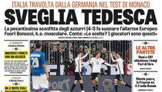 Rassegna stampa sportiva Italia: Germania travolge Conte - http://www.maidirecalcio.com/2016/03/30/rassegna-stampa-sportiva-italia-germania-travolge-conte.html