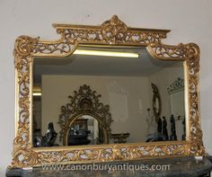 1000 images about antique mirrors on pinterest rococo for Church style mirrors