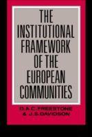 Prezzi e Sconti: #Institutional framework of the european  ad Euro 38.29 in #Ibs #Libri