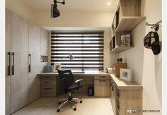 現代風書房 Study Room Design, Design Case, Corner Desk, Conference Room, Table, Furniture, Home Decor, Corner Table, Decoration Home