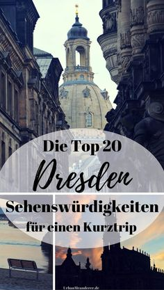 Dresden short trip: The Top 20 Dresden attractions as a tour - Europe Destinations, Travel Europe, Travel Around The World, Around The Worlds, Dresden Germany, Reisen In Europa, Short Trip, Travel Goals, Germany Travel