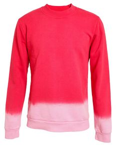 RAF SIMONS | Hand-dyed Ombre Cotton Sweater