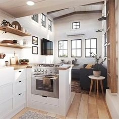 Tiny House Ideas: Inside Tiny Houses - Pictures of Tiny Homes Inside and Out (videos too!) House Ideas: Inside Tiny Houses - Pictures of Tiny Homes Inside and Out (videos too!) Tiny House Interior Photos and Images – Tiny House Ideas an. Modern Tiny House, Tiny House Cabin, Tiny House Living, Tiny House Plans, Tiny House On Wheels, Tiny House Design, Tiny Home Floor Plans, Small Tiny House, Best Tiny House