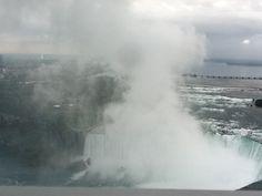 Cloud above the falls