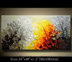 contemporary wall artcolorful tree